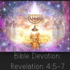 "Devotion:Rev 4:5-7  Verses highlighted:Rev 4‬:‭5-7‬ (excerpt) ""...7 lamps were blazing. These are the 7 spirits of God...4 living creatures, and they were covered with eyes, in front and back. The first living creature was like a lion, the second was like an ox, the third had a face like a man, the fourth was like a flying eagle.""http://bible.com/111/rev.‭4‬.5.niv  *Just as the Holy Spirit is seen symbolically in the 7 lighted lamps, so the ""4 living creatures"" represent the attributes of…"
