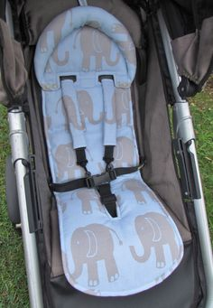 PDF pattern - Universal Fit Seat Liner Pattern PRAM STROLLER with by Flosstyle