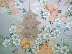 RARE Yuzen Chayatsuji Vintage Japanese Tango by CosimaOrimono