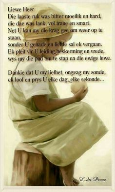 Messages For Friends, God's Wisdom, Goeie More, Spiritual Disciplines, Beautiful Prayers, Special Words, Prayer Board, Bible Verses Quotes, Afrikaans