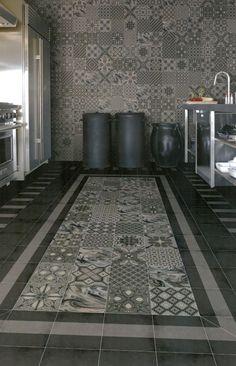 Dekor Bodenfliesen 20 x 20cm  Mosaik Muster Fliesen für Wand & Boden Castelo