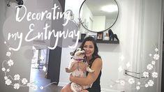 Decorating my Entryway! - YouTube I Decided, Entryway, Organization, Decorating, Videos, Youtube, Mariana, Entrance, Getting Organized