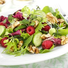 Raspberry Walnut Salad!