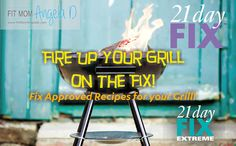 Grill Recipes that are all 21 Day Fix and 21 Day Fix Extreme Approved! | www.fitmomangelad.com