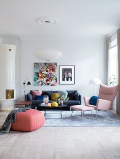 lessons to learn from a colourful yet calm norwegian home