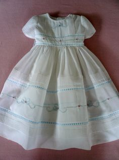Swiss Voile Dress by Gail Doane - Lone Star Smockers
