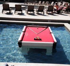 Waterproof Pool Table [SOURCE]