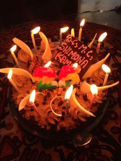 My 25th Birthday #cake #birthday #25thbirthday #candles #desert #love #shimonastudio