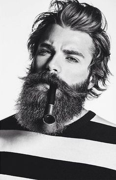 Cool bearded look for real men — Mens Fashion Blog - The Unstitchd