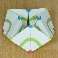 octagonal kaleidocycle in color