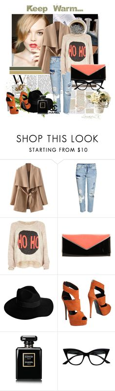 """Every night's getting longer! And this fire is getting stronger, baby!"" by theodoresquei ❤ liked on Polyvore featuring H&M, River Island, Nude, By Malene Birger, Giuseppe Zanotti, Chanel, Retrò, black, Heels and redlips"