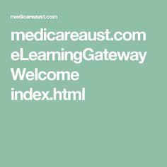medicareaust.com eLearningGateway Welcome index.html