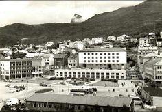 Nordland fylke Narvik oversikt over sentrum Utg Mittet 1950-tallet