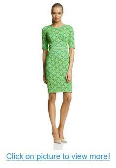 Maggy London Women's Flower Lace Elbow-Sleeve Dress #Maggy #London #Womens #Flower #Lace #Elbow_Sleeve #Dress