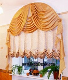 New catalogue of classic luxury curtains and luxury drapes 2018 with the best classic curtains designs and drapery designs 2018 for all rooms living room, kitchen, dining room, bedroom and bathroom curtain designs 2018 for luxury interior design Latest Curtain Designs, Drapery Designs, Balloon Curtains, Drapes Curtains, Cheap Basement Ideas, Classic Curtains, Diy Cupboards, Classic Window