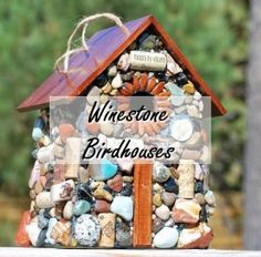 Delight Your Senses with Ecofriendly Birdhouses by Winestone Birdhouses! US 12/9 ~ Milk Wasted