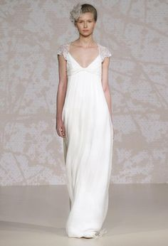 Jenny Packham Syrie. Lovely. For the lines.