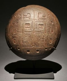 View 1: Incised Plate - Chavin - 900 BC-200 BC