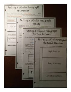 expository essay foldable