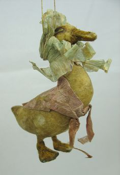 https://flic.kr/p/bcp9qD | jemima puddle duck | Spun cotton by Arbutus Hunter