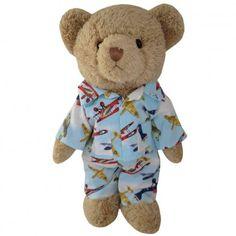 Airplane Pyjama Teddy Bear