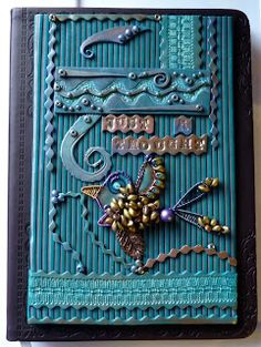 Knightwork: Playing with Clay: Polymer Clay Journal Covers