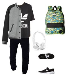 """""""♢♢"""" by song-v on Polyvore featuring adidas Originals, NIKE, Vans, L.L.Bean, Beats by Dr. Dre, men's fashion and menswear"""