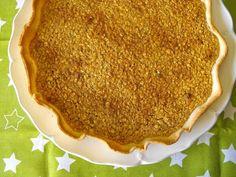 Tarte de aveia com nozes e doce de abóbora - http://gostinhos.com/tarte-de-aveia-com-nozes-e-doce-de-abobora/