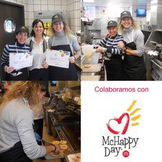 Ana Llorca y Cristina Espinos han asistido al #McHappyDay, una jornada benéfica en la que parte de lo que se recauda se destina a la Fundación Infantil Ronald McDonald.
