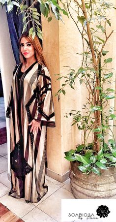 A fancy lined by Insta Arab Swag, Abayas, Kimono Top, Fancy, Boutique, Tops, Women, Style, Fashion