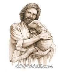 Jesus, the Good Shepherd Lord Is My Shepherd, The Good Shepherd, Christian Images, Christian Art, Good Shepard, Jesus Drawings, Spiritual Pictures, Religious Pictures, Sea Peoples