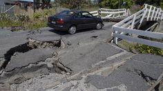 Bill ✔️  A bridge in Kaikoura, New Zealand, mangled in the quake...... A massive M7.8 earthquake on 14 November 2016.    Bill Gibson-Patmore.  (curation & caption: @BillGP). Bill✔️