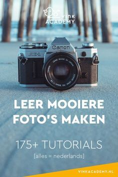Meer dan 175 artikelen met fotografie tips om mooiere foto's te leren maken…. More than 175 articles with photography tips for learning to take better photos. All tutorials and tips and tricks are written in Dutch.
