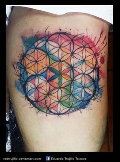 flower of life by redtrujillo.deviantart.com on @DeviantArt