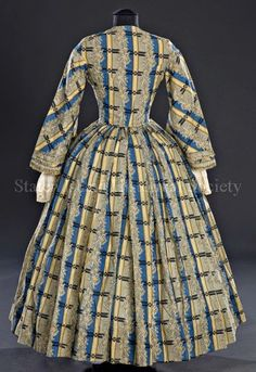 Day dress, 1855-65