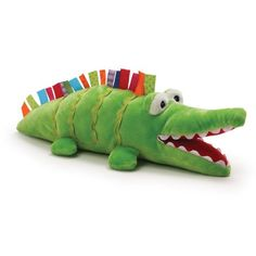 Sofia loves this...GUND Color Fun Circus Argy Plush Alligator