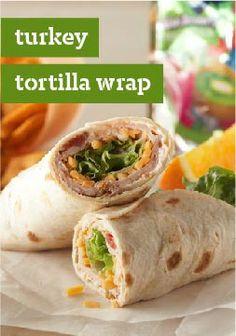 Turkey Tortilla Wrap