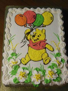 Cartoon Birthday Cake, Disney Birthday, Decorator Frosting, Barbie Cake, Square Cakes, Disney Cakes, Specialty Cakes, Creative Cakes, Cupcake Cookies