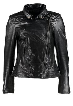a2b803a2ff383 Buy Black Freaky nation Leather jacket for woman at best price. Compare  Jackets prices from online stores like Zalando - Wossel United States