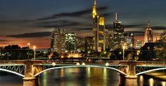 Roteiro de um dia em Frankfurt #viajar