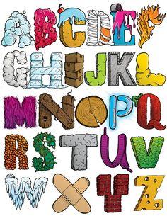 Illustrated Alphabet - Third Half Design - The Online Design Folio of Chad Mann