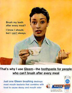 Ebony  Magazine  1960 Gleem  ad