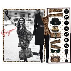"""""""One can never be over-dressed in Cheetah!"""" by elegancerules on Polyvore"""