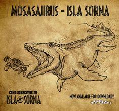 Mosasaurus Isla Sorna by jesuskent2014.deviantart.com on @DeviantArt