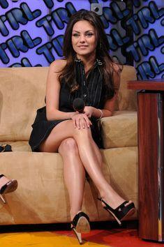 Mila Kunis - MTV TRL Presents Mila Kunis, Kristen Bell, Jason Segel & Russell Brand
