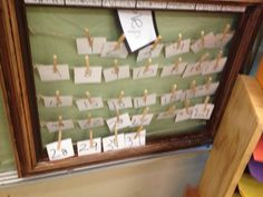 A Reggio Inspired Classroom - Fairy Dust Teaching - I really like the idea of this calendar. Reggio Inspired Classrooms, Reggio Classroom, Classroom Setup, Classroom Displays, Kindergarten Classroom, Classroom Organization, Classroom Design, Classroom Board, Future Classroom
