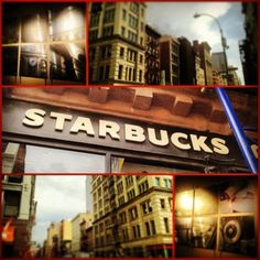 Grand & Broadway #Starbucks #NYC #SoHo