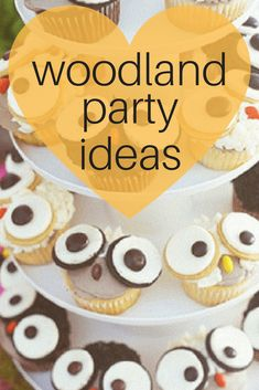 Woodland animal forest friends baby shower ideas!