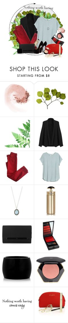 """All Worth It"" by jerzeygurl ❤ liked on Polyvore featuring NARS Cosmetics, Dot & Bo, Comptoir Des Cotonniers, H&M, Armenta, Prada, Christian Louboutin, Serge Lutens, Alexander McQueen and WALL"