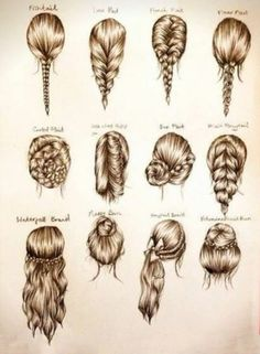 If only hair was actually this realistic everyone would be gorgeous in braids.